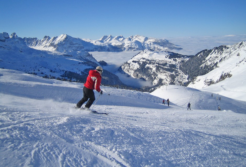 Grand Massif-Flaine Ski Slopes