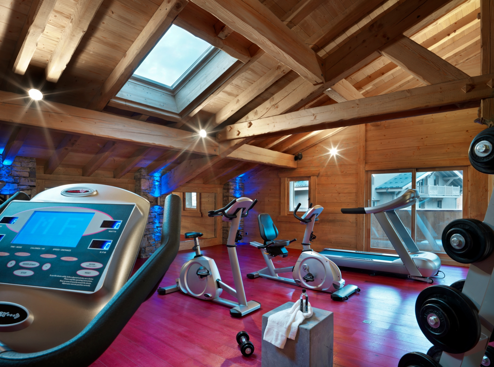 La Reine des Pres, Samoens (self catered apartments) - Gym