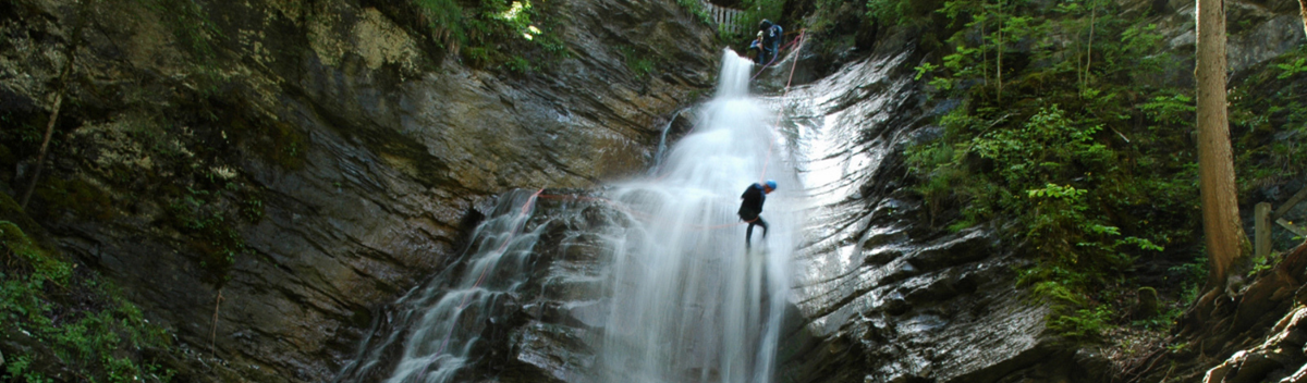 Canyoning in France