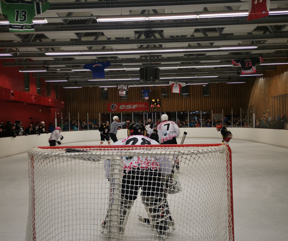 Ice Hockey La Rosiere