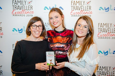 Family Traveller Excellence Award 2019