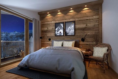 Altima apartments Megeve, luxury accommodation