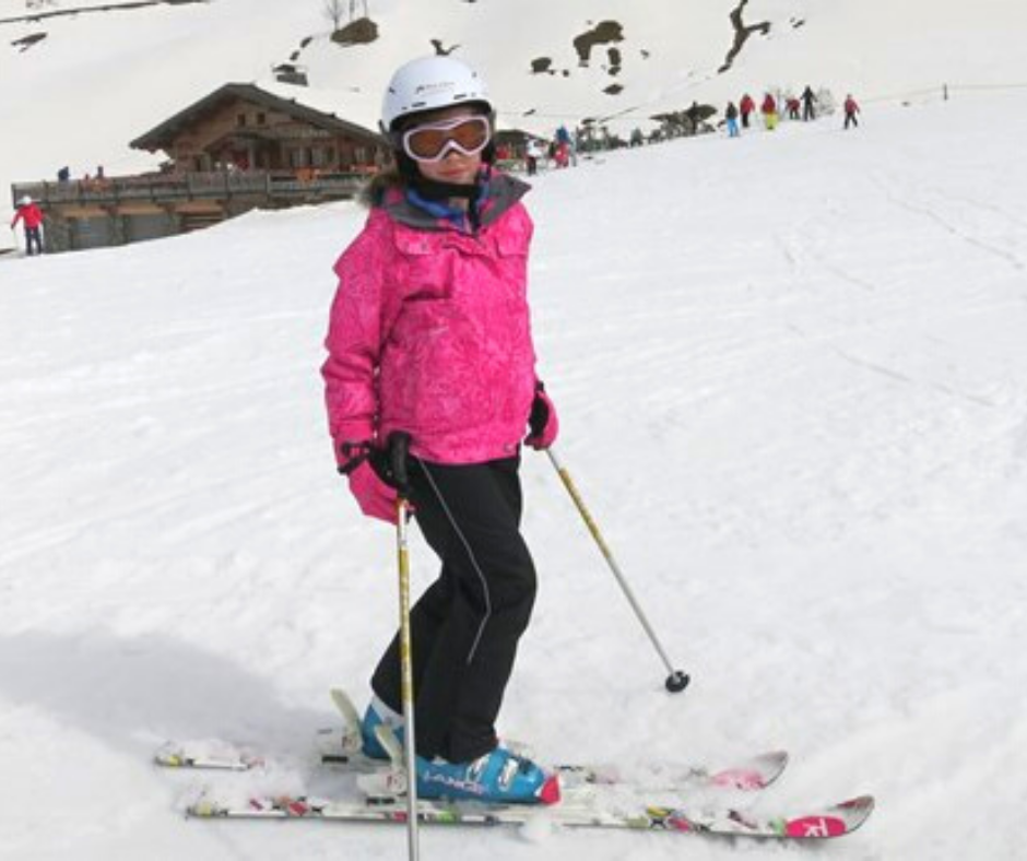 Le Grand Bornand family skiing