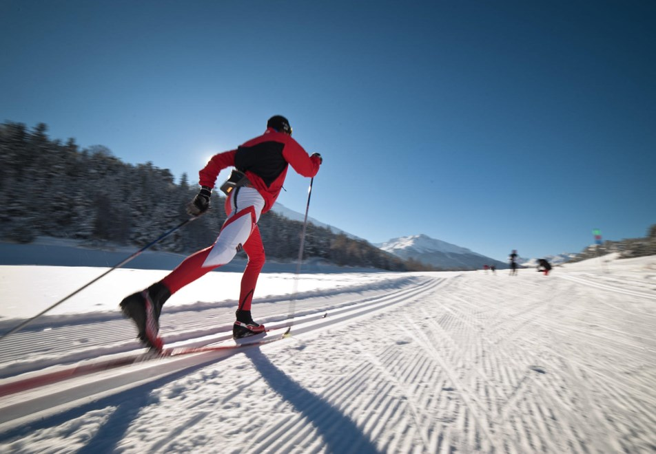 Aussois Ski Resort (©mo-apernet) - Cross country skiing (classic)