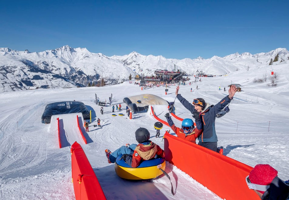 Les Arcs Ski Resort - Fun activities