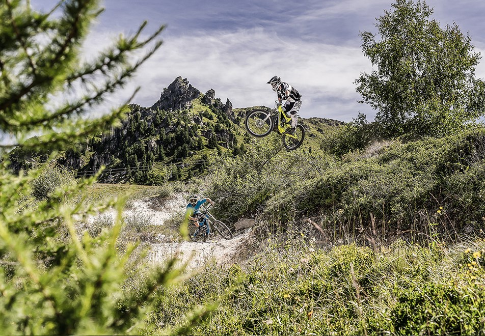 Les Arcs Resort - Mountain biking (©andyparant)