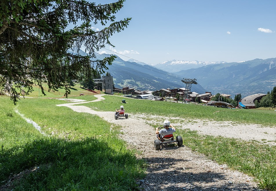 Les Arcs Resort - Mountain Kart (©Raj_Bundhoo)