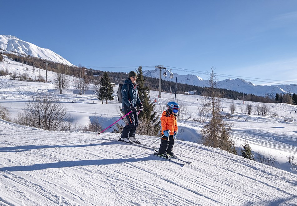 Les Arcs Ski Resort - Family skiing