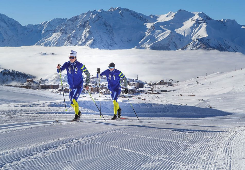 Alpe d'Huez Ski Resort (©Cyrille-Quintard) - Cross country skiing (classic)