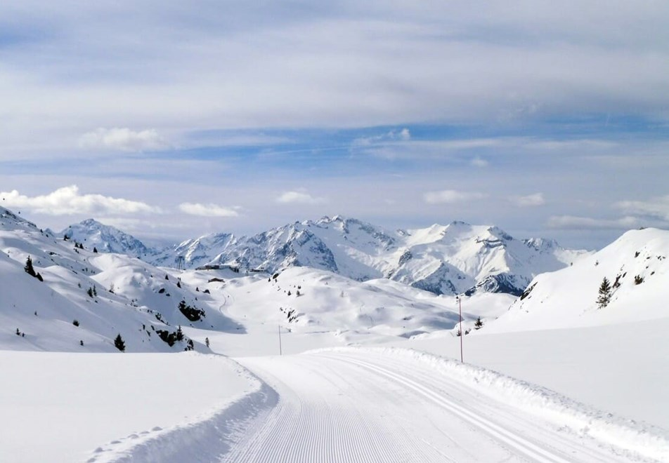 Oz en Oisans Ski Resort - Cross country tracks
