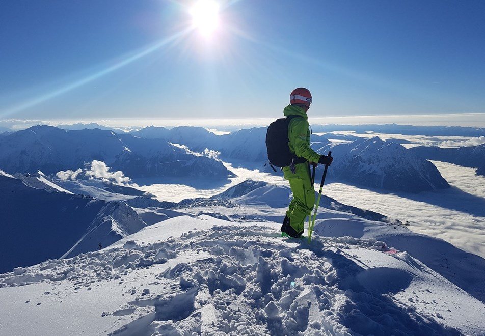 Oz en Oisans Ski Resort - Ski touring