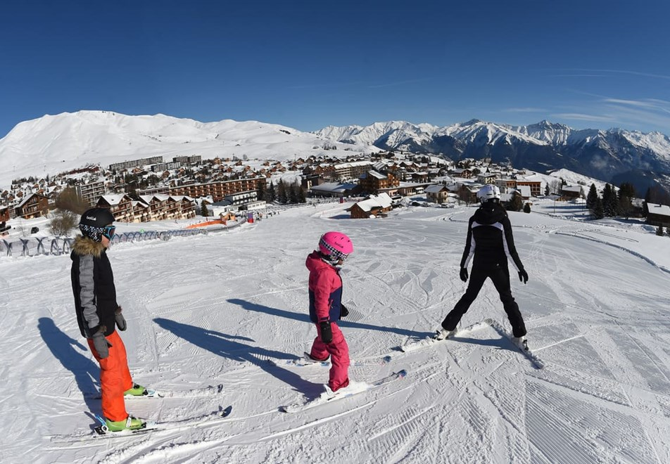 La Toussuire Ski Resort (©F.Bompart agence Zoom) - Beginners area