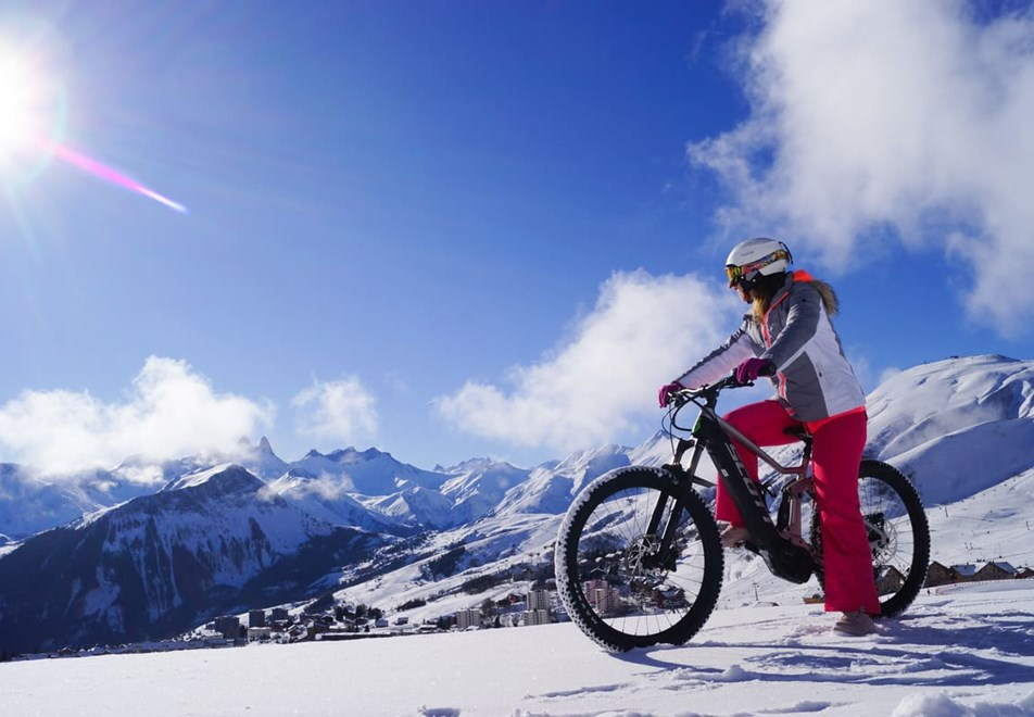 La Toussuire Ski Resort - Fat bike