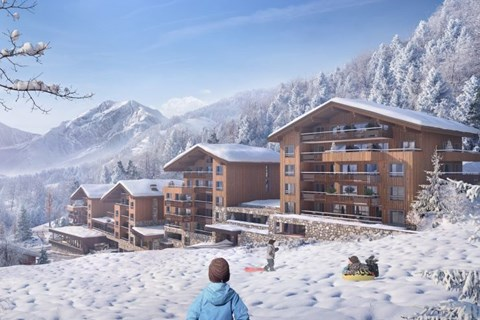 Newly built apartments in Les Contamines 2021