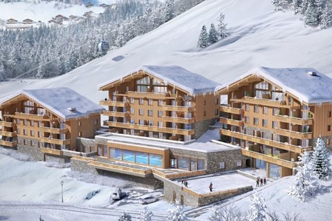 Brand new apartments in Grand Bornand 2022