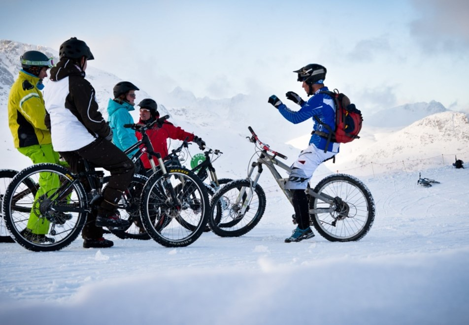 Les Sybelles Ski Resorts - Fat bike