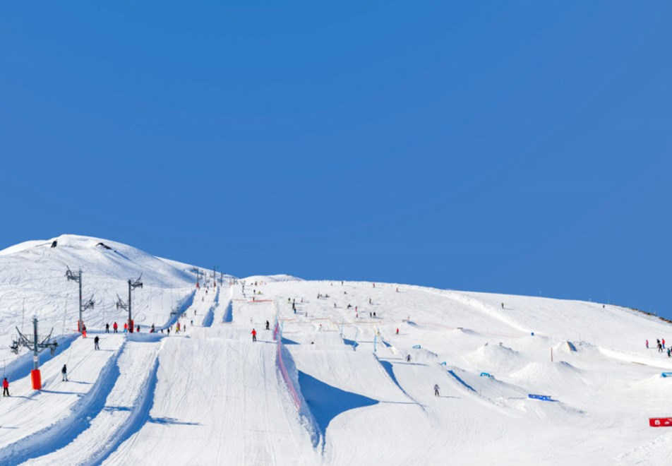 Les Sybelles Ski Resorts (©tiphainebuccino_sybelles) - Snowpark