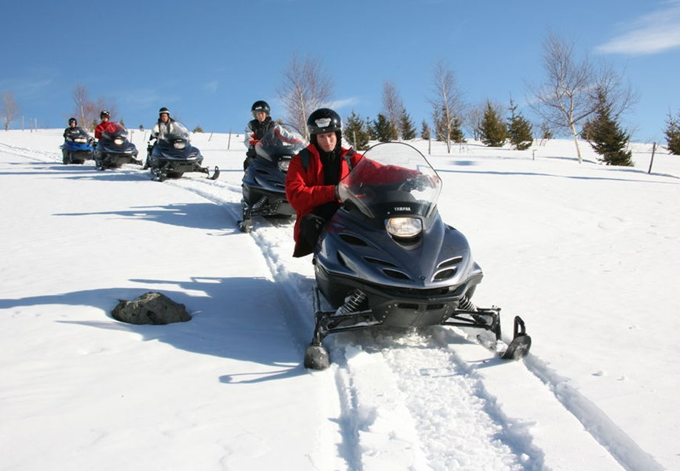 Les Sybelles Ski Resorts - Snowmobiling