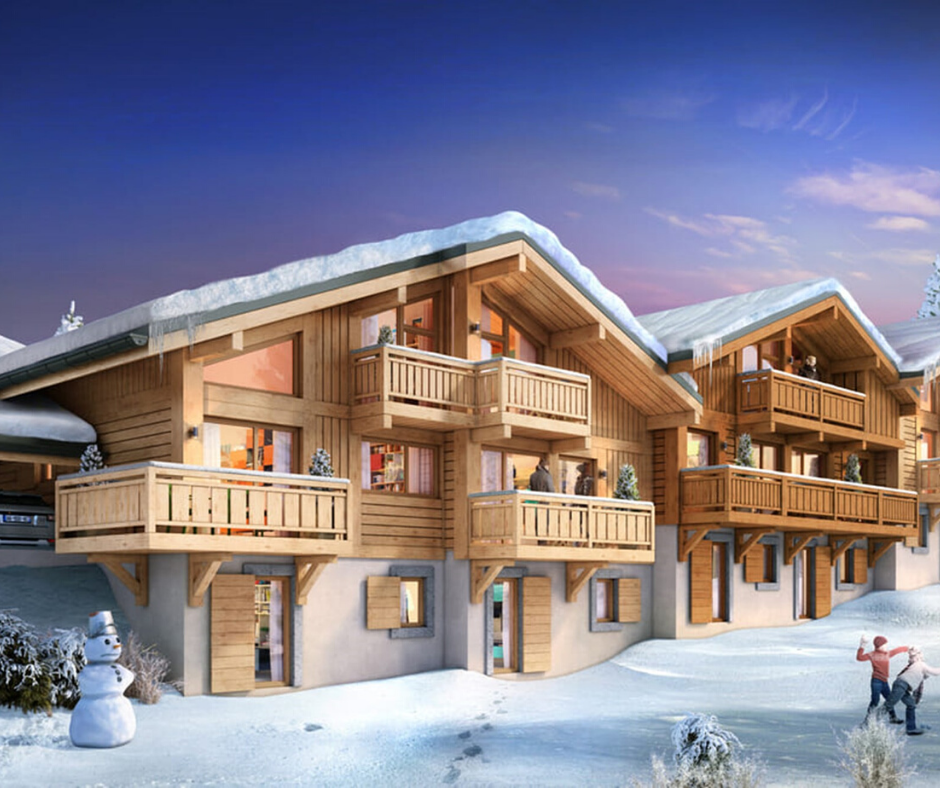 Le Pre d'Anne Chloe new self catered apartments, Samoens 2020