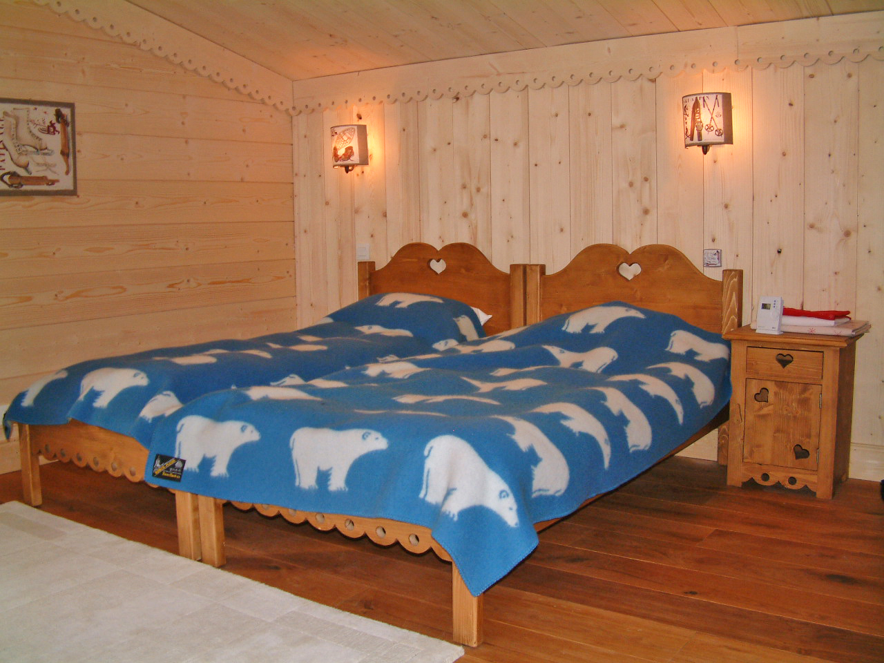 La Taniere (Chamonix) Quad Bedroom
