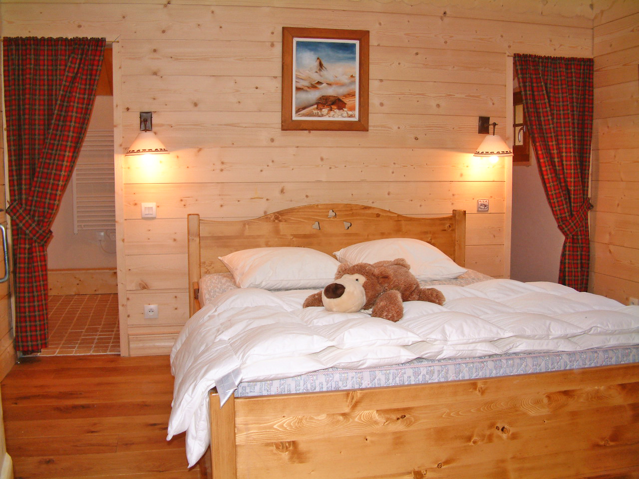 La Taniere (Chamonix) Double Bedroom