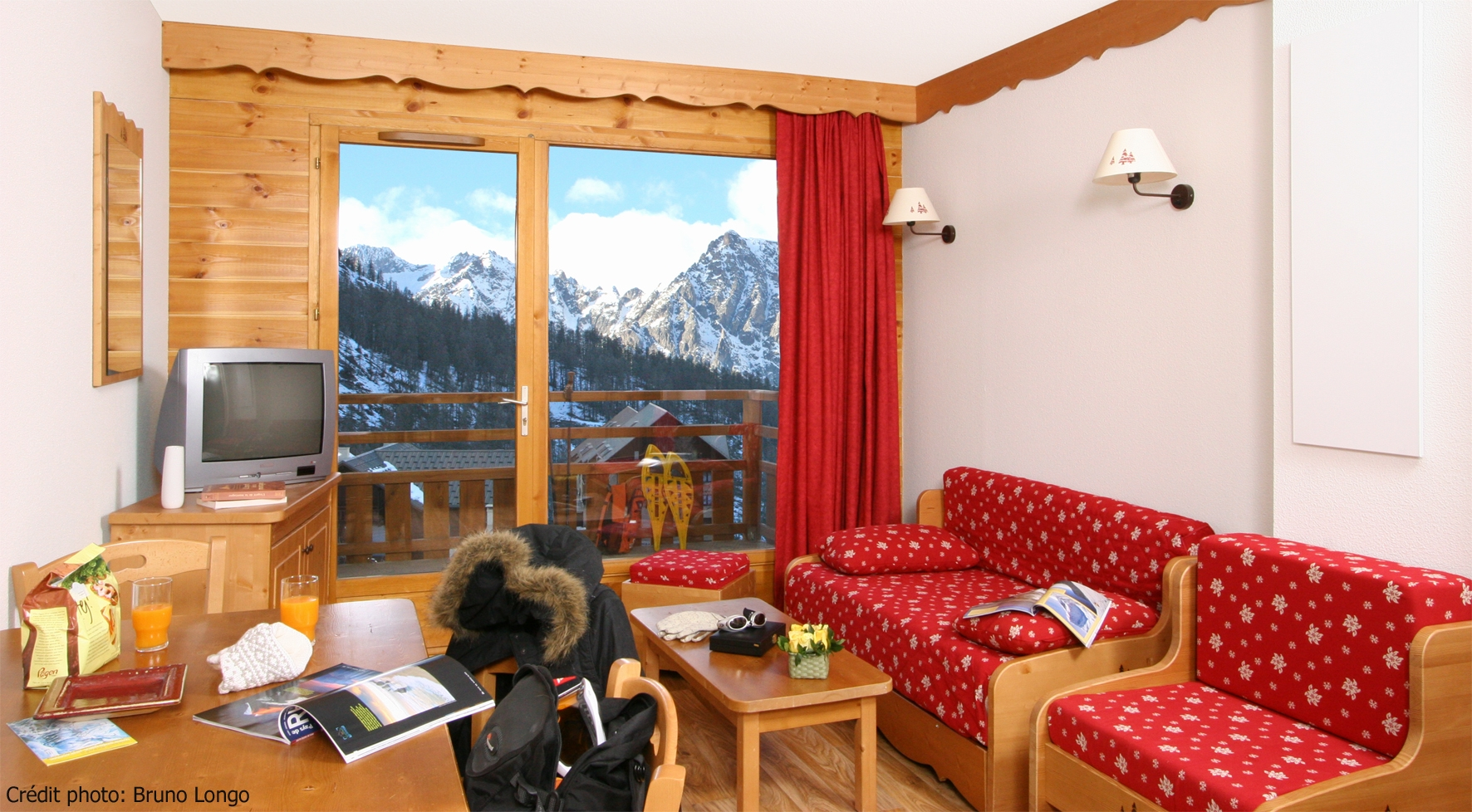 Le Grand Panorama (St Gervais) Typical Apartment