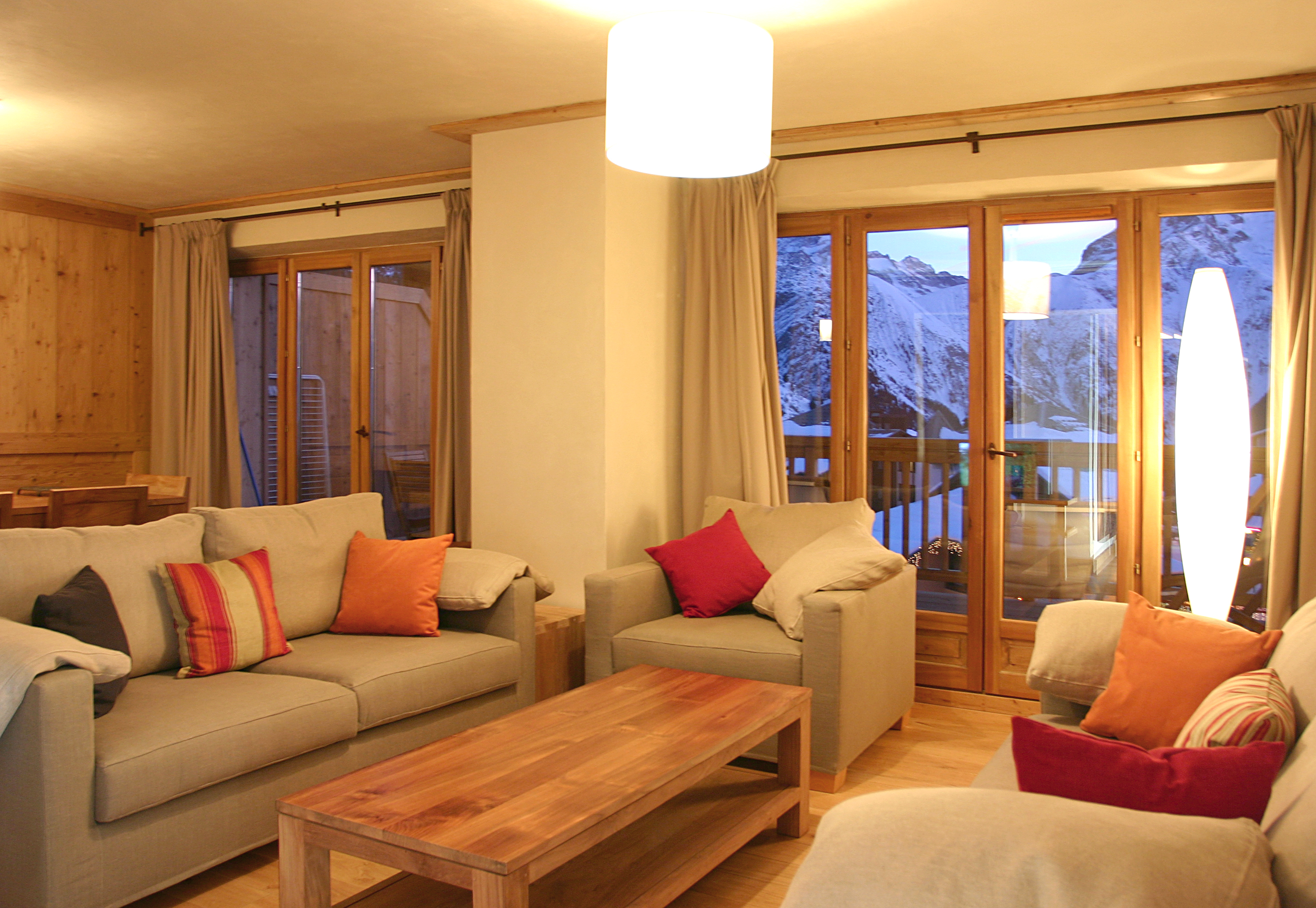 Le Cortina (Les 2 Alpes) Typical Apartment