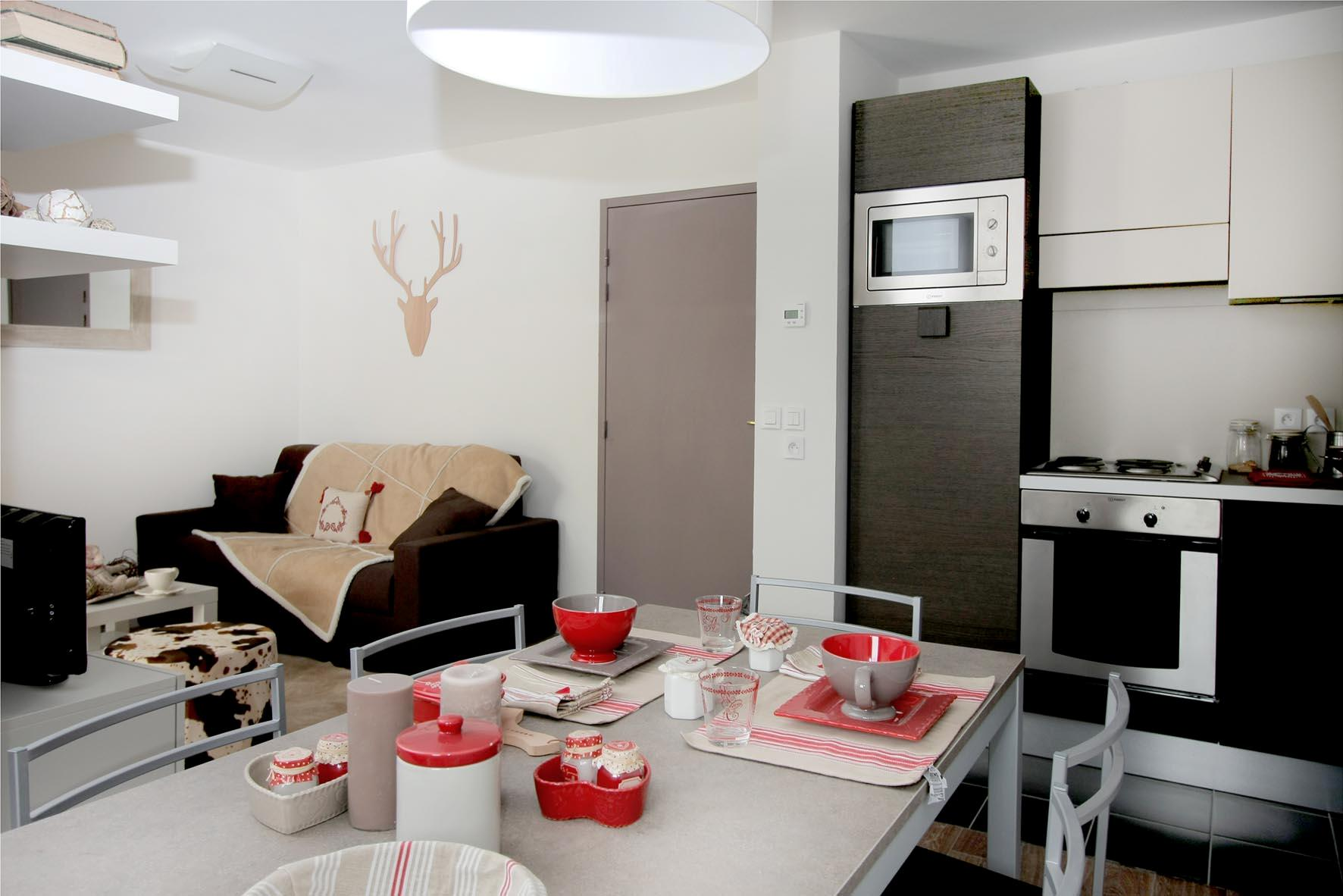 Au Coeur des Ours (Les 2 Alpes) Typical Apartment