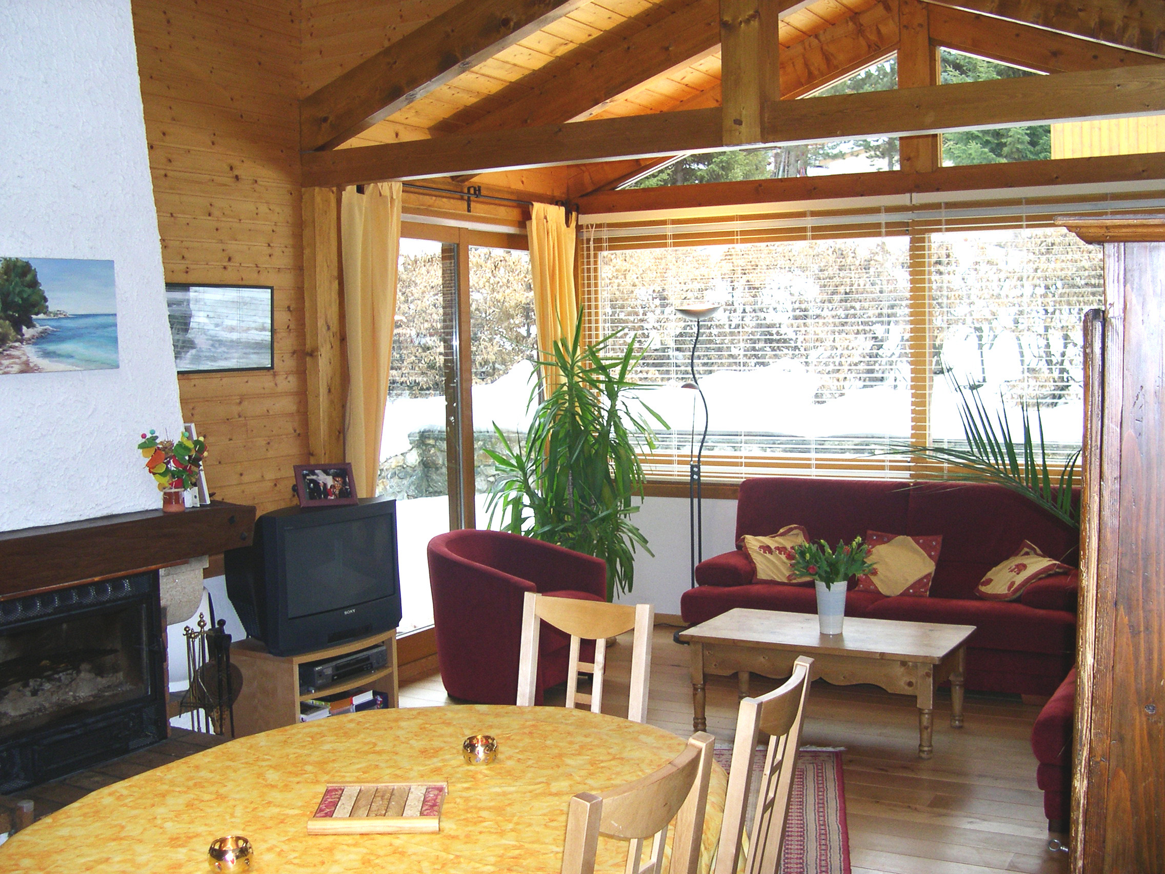 Chalet Jon, Les Deux Alpes (self catered chalet) - Lounge