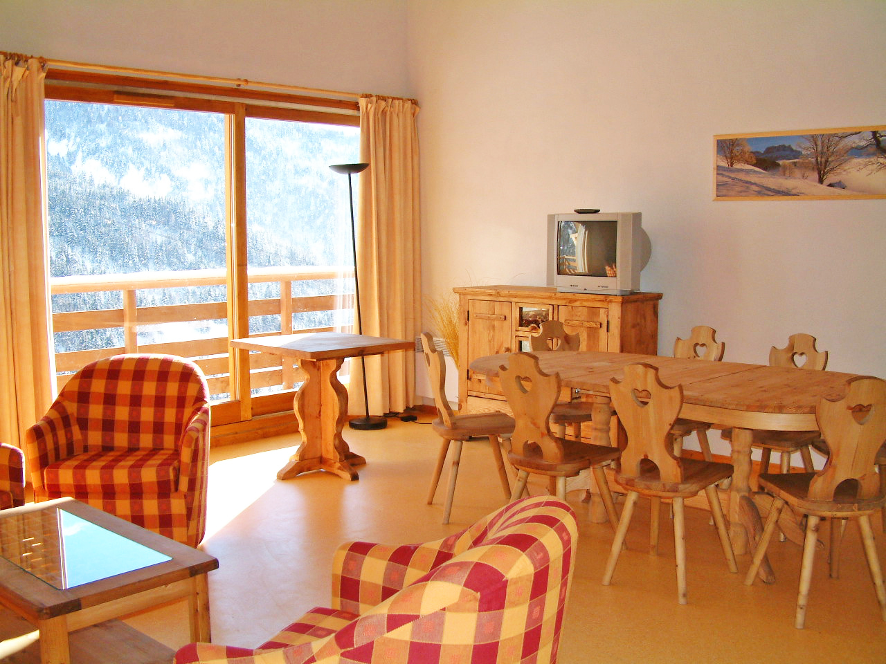Les Balcons de Vaujany I (Vaujany) Typical Apartment