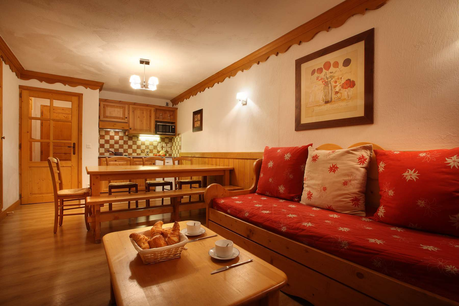 Chalet des Neiges (Oz) Typical 2 bedroom Apartment