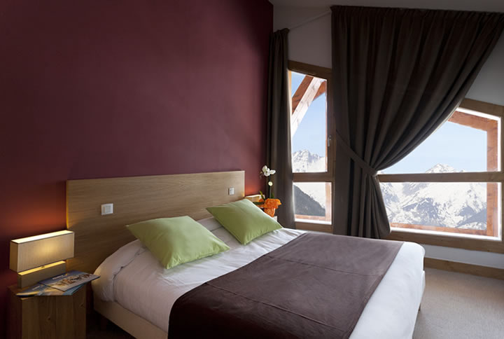 Etoile des Cimes, Sainte Foy (self catered apartments) - Double bedroom