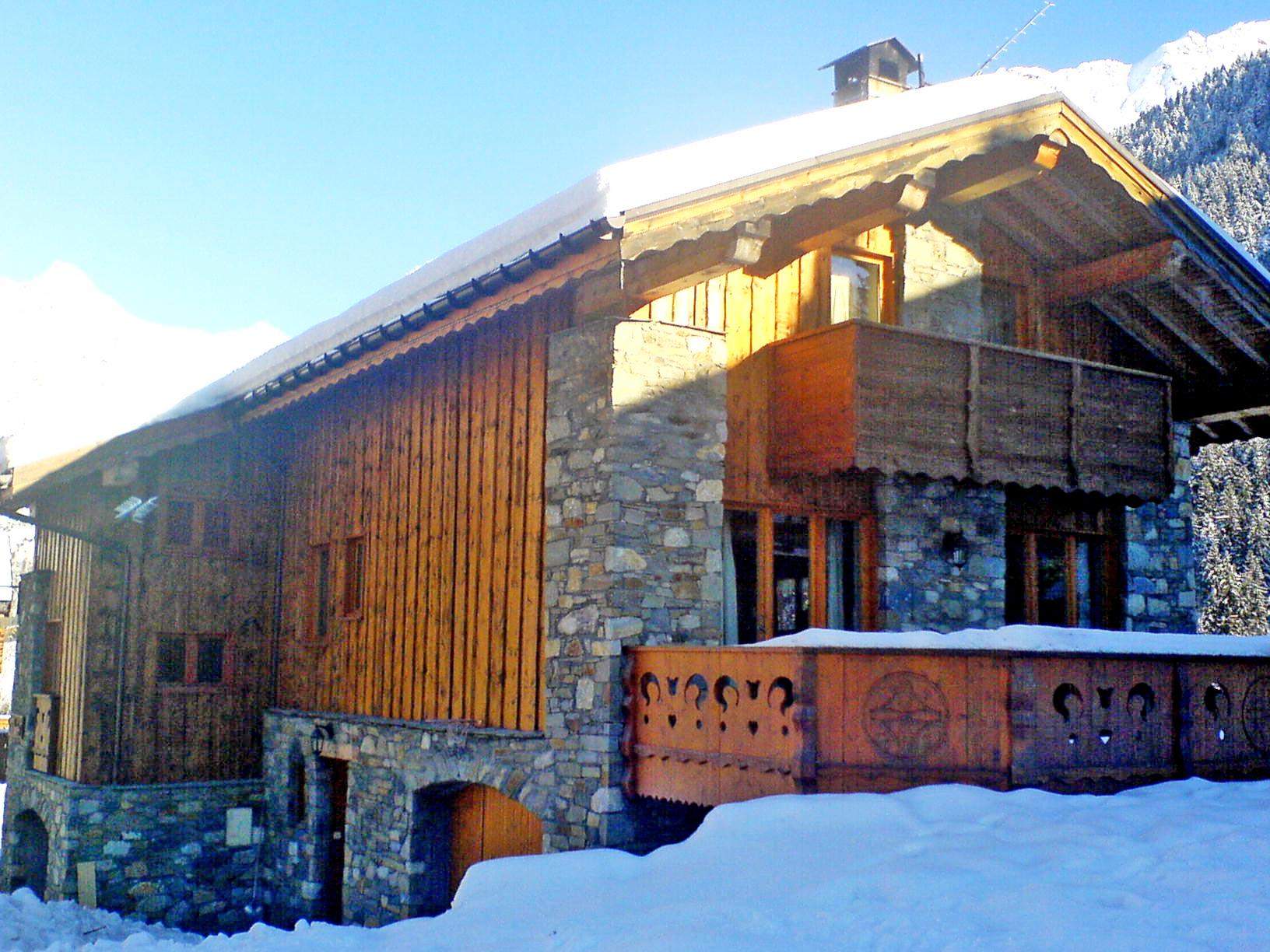 Le Grand Bec (Champagny) Exterior