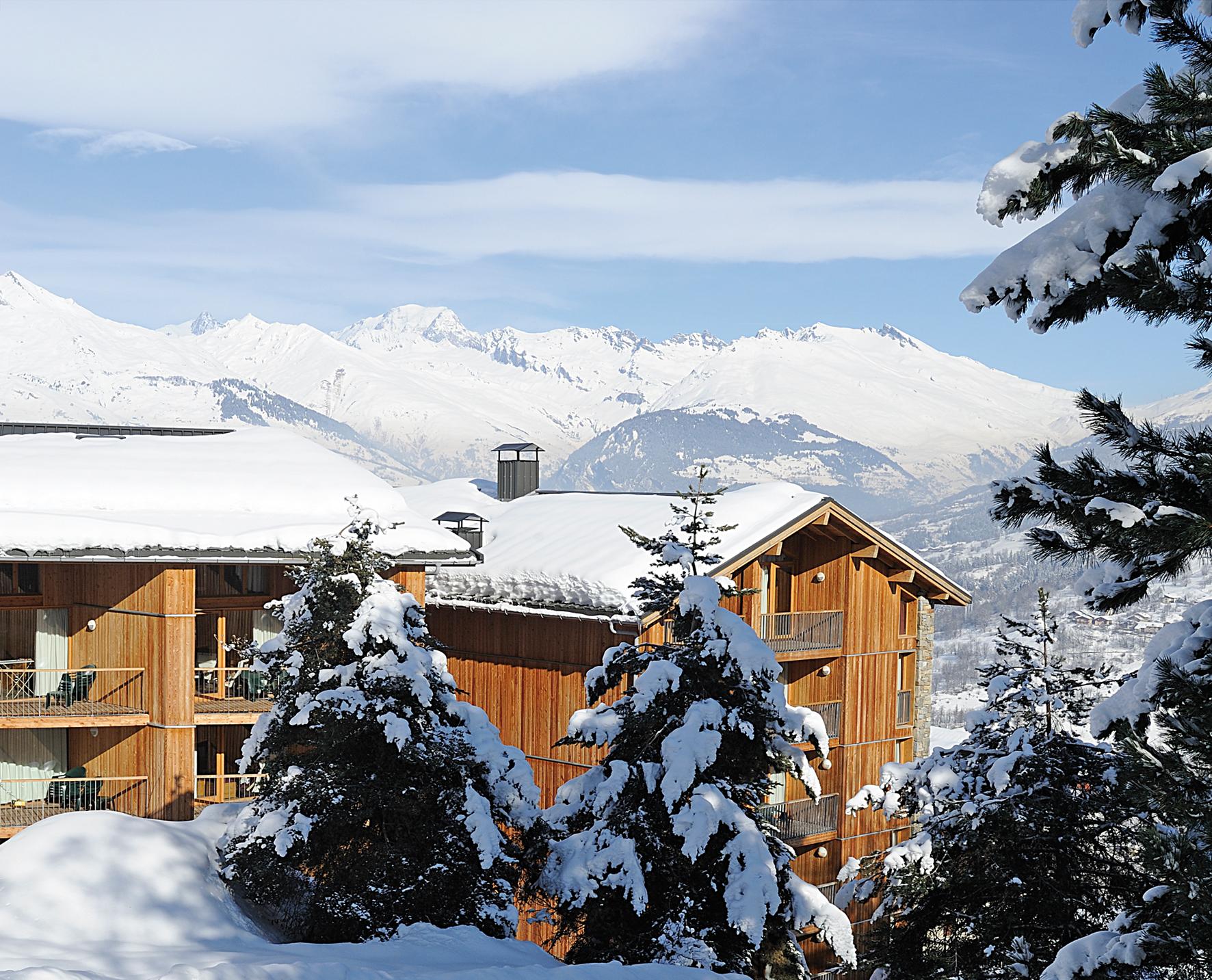 Les 3 glaciers montchavin ski apartments peak retreats - Office tourisme montchavin ...