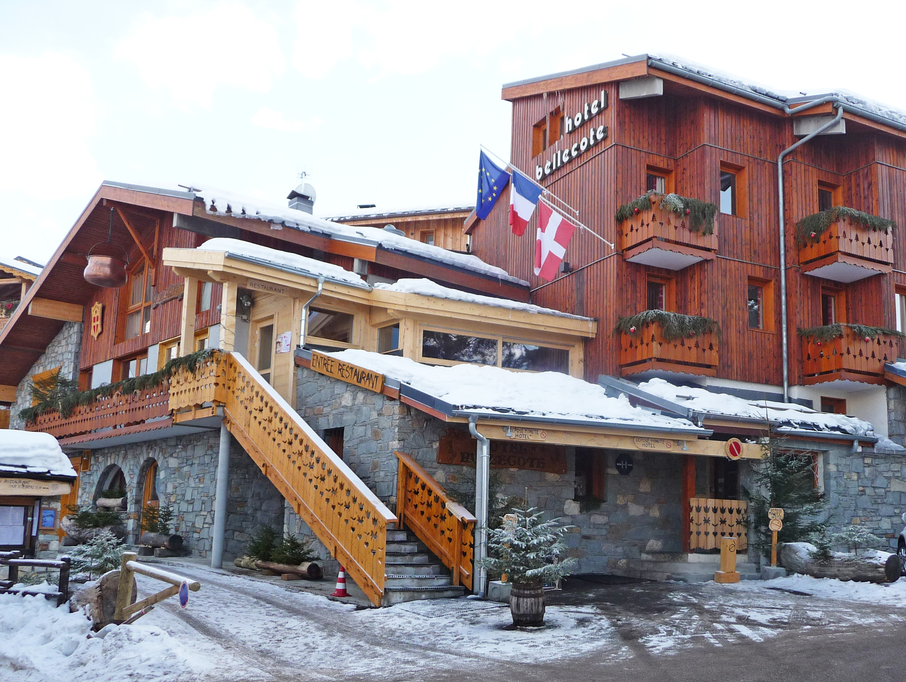 Hotel Bellecote Montchavin Ski Accommodation Peak Retreats