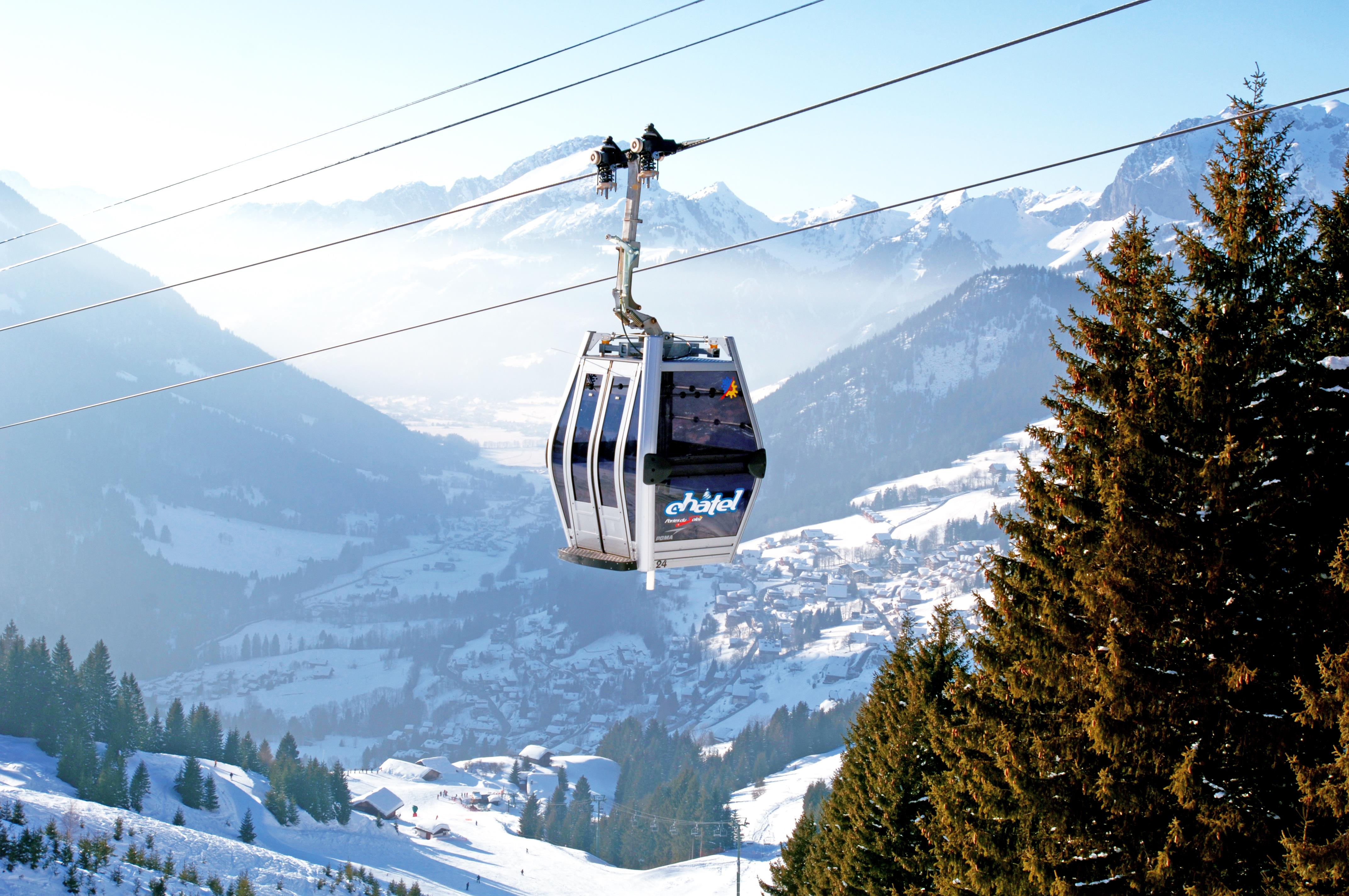 Chatel Ski Slopes © (Vuarand)