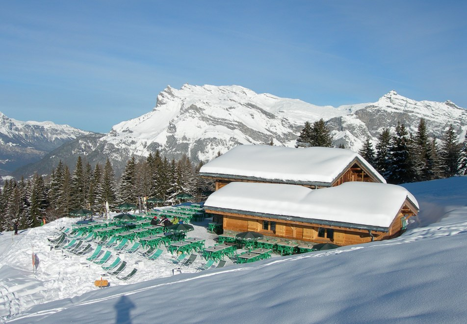St Gervais Ski Slopes