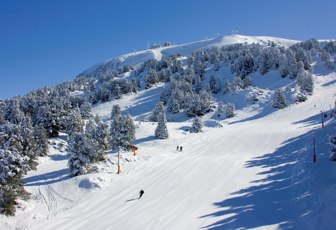 Skiing in Chamrousse