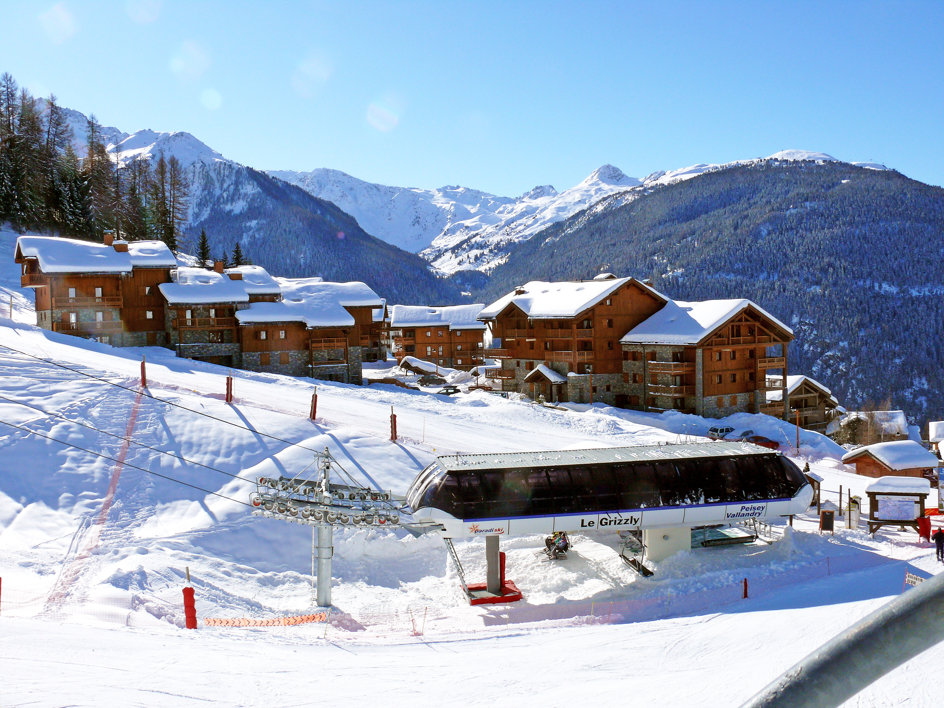 1 Of 6 Vallandry Ski Village   Peisey Vallandry
