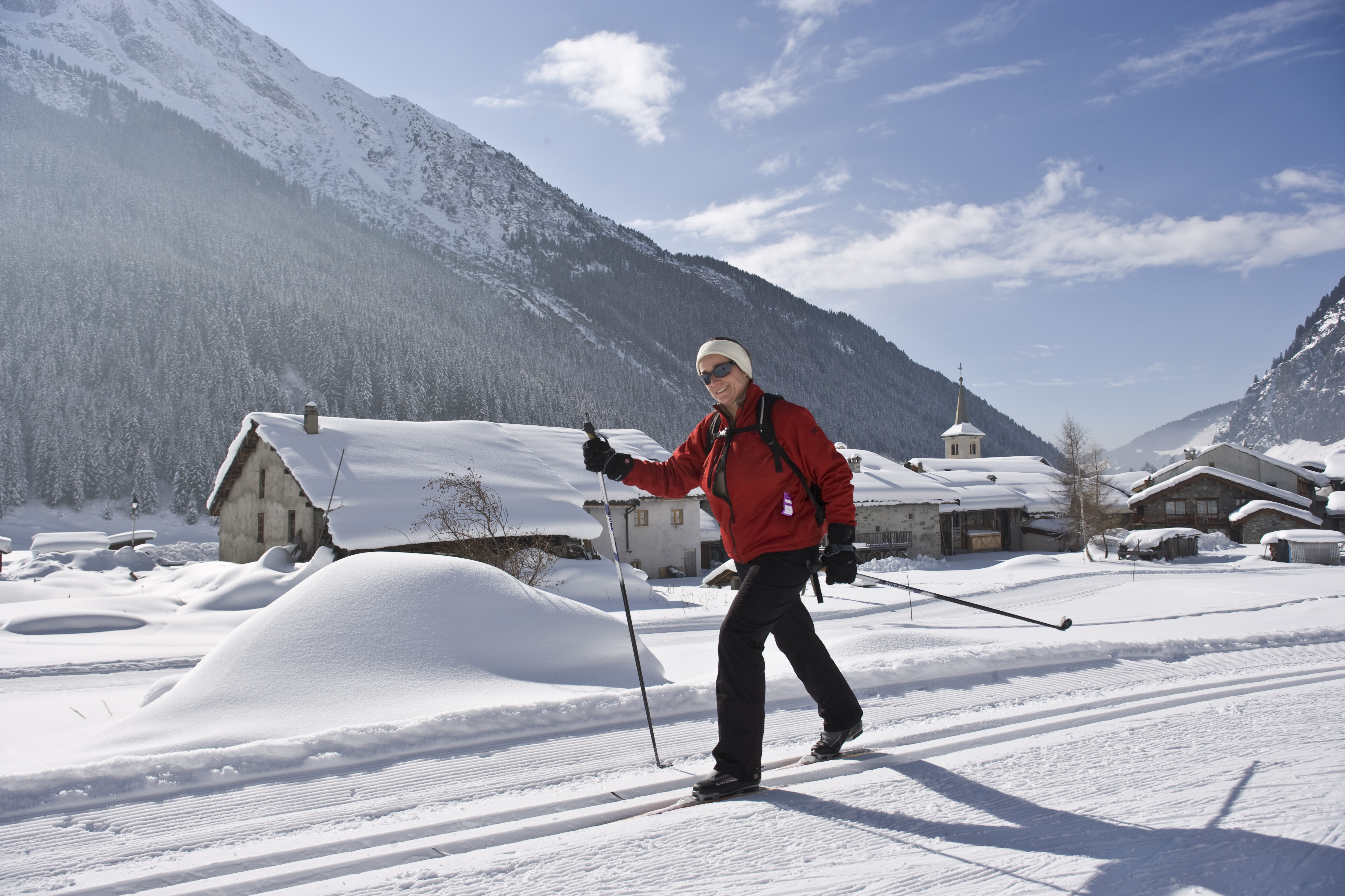 Champagny Cross Country Skiing