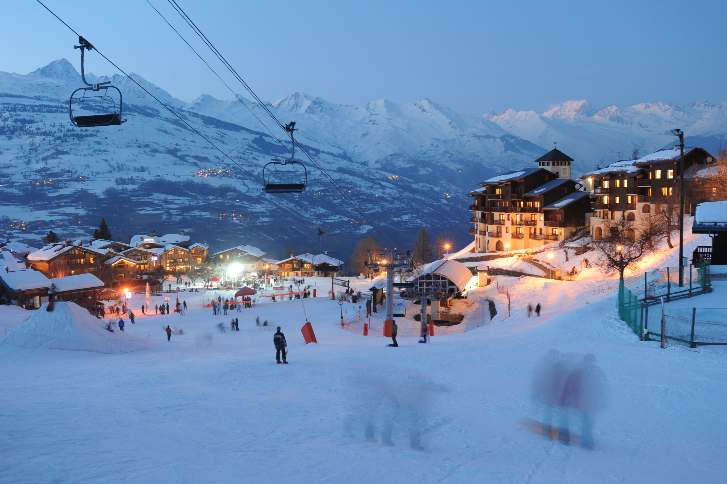 Montchavin Ski Village & Slopes