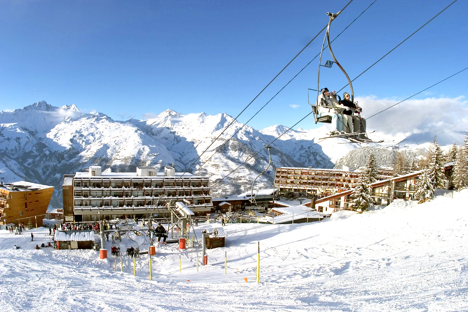 Les Arcs 1600 Ski Slopes