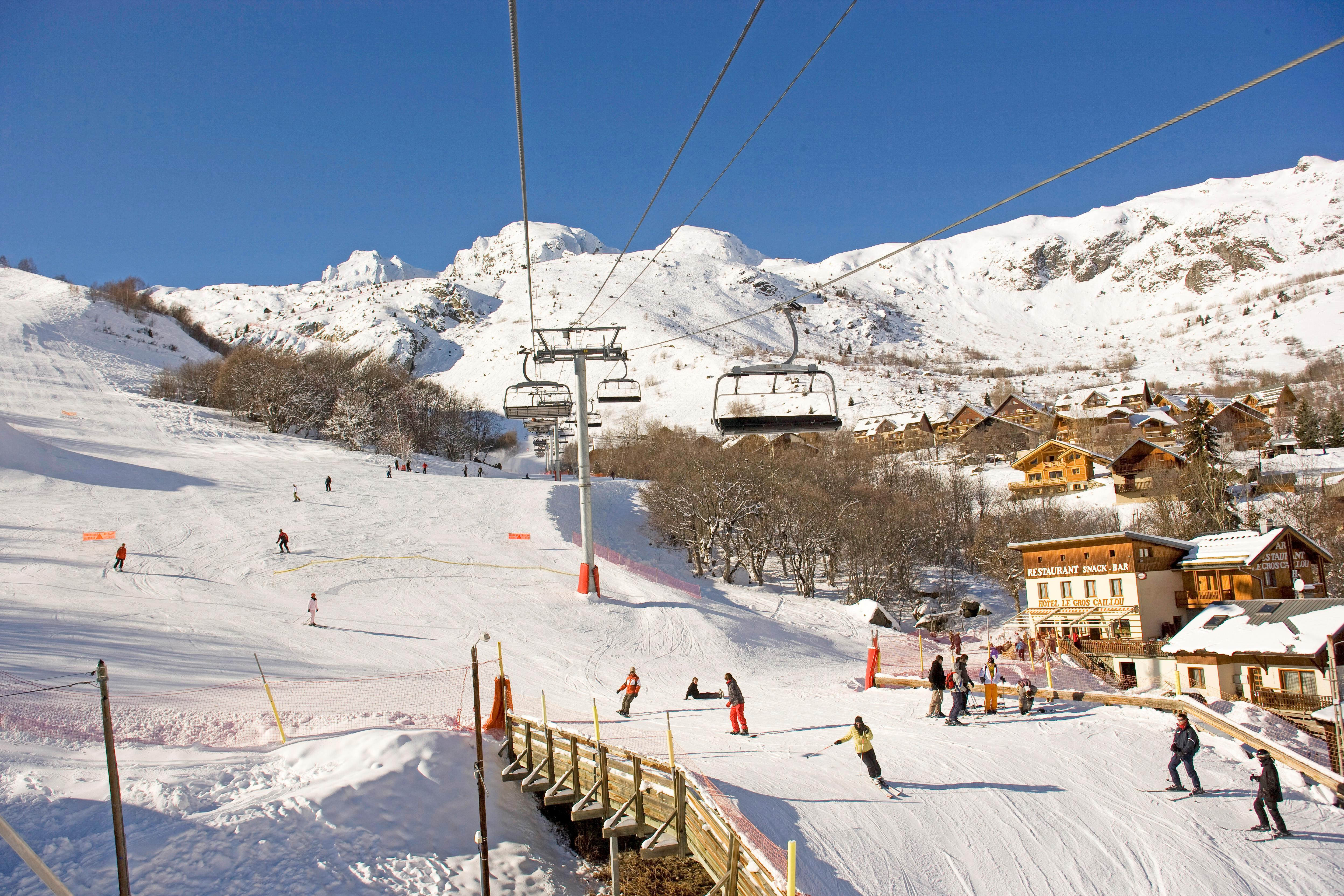 St Sorlin Ski Slopes