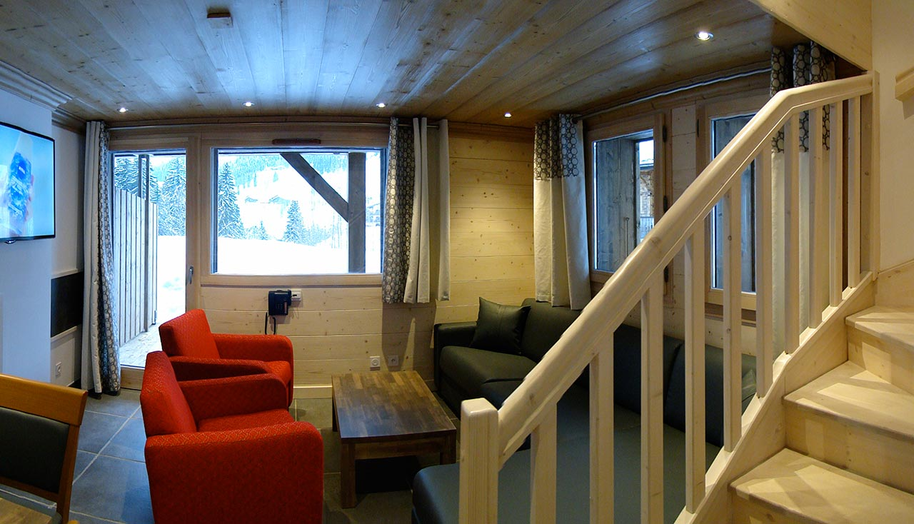Delphine Apartments, Les Gets (self catered chalet) - 2 Bedroom style