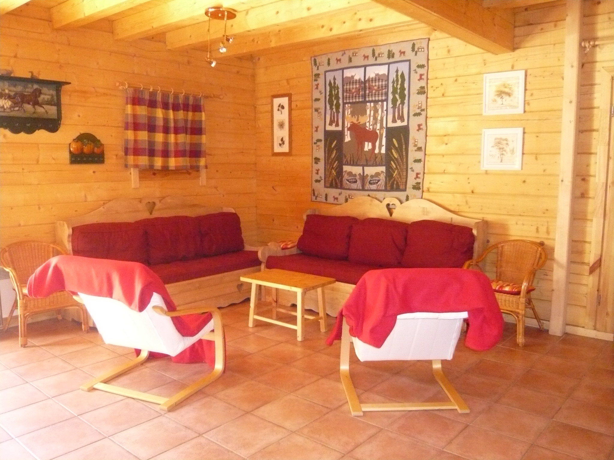 Le Planet I & II, Venosc (self catered chalets) - Lounge