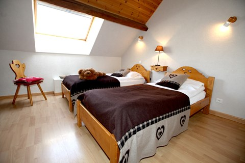 Le Plane 2 (Valloire) Twin Bedroom