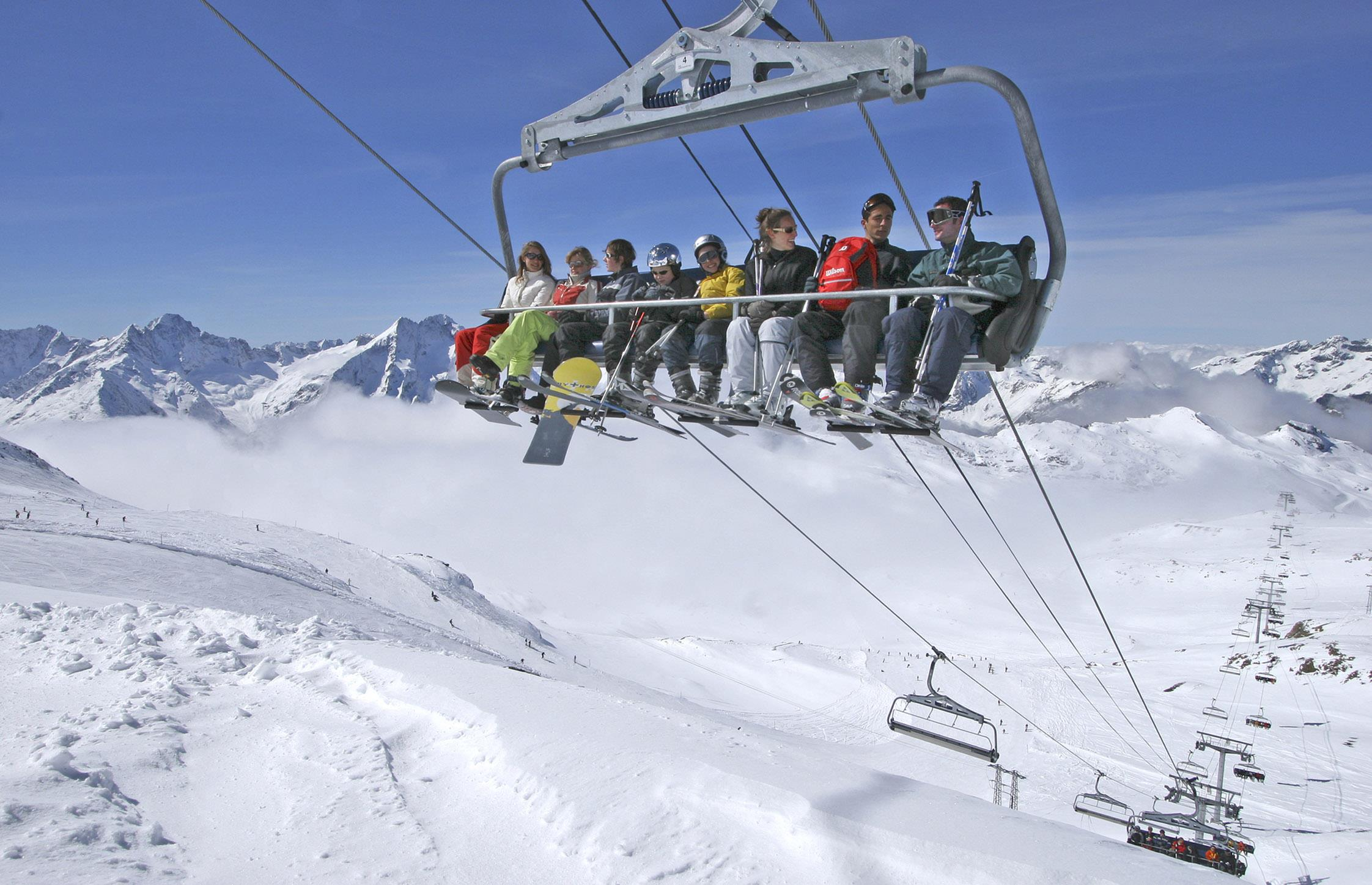 Les 2 Alpes Ski Lifts