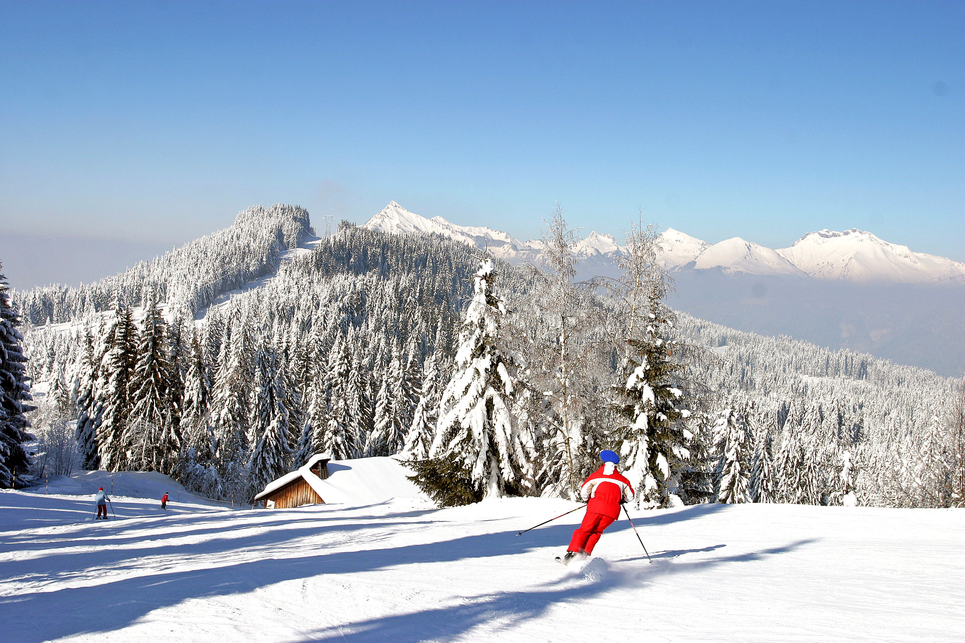Morillon Ski Slopes