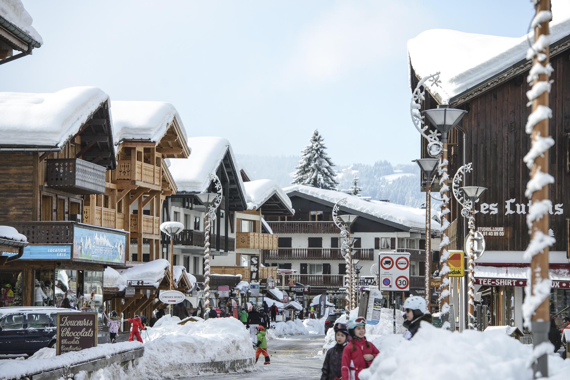 Les Gets Ski Village ©(N Joly)