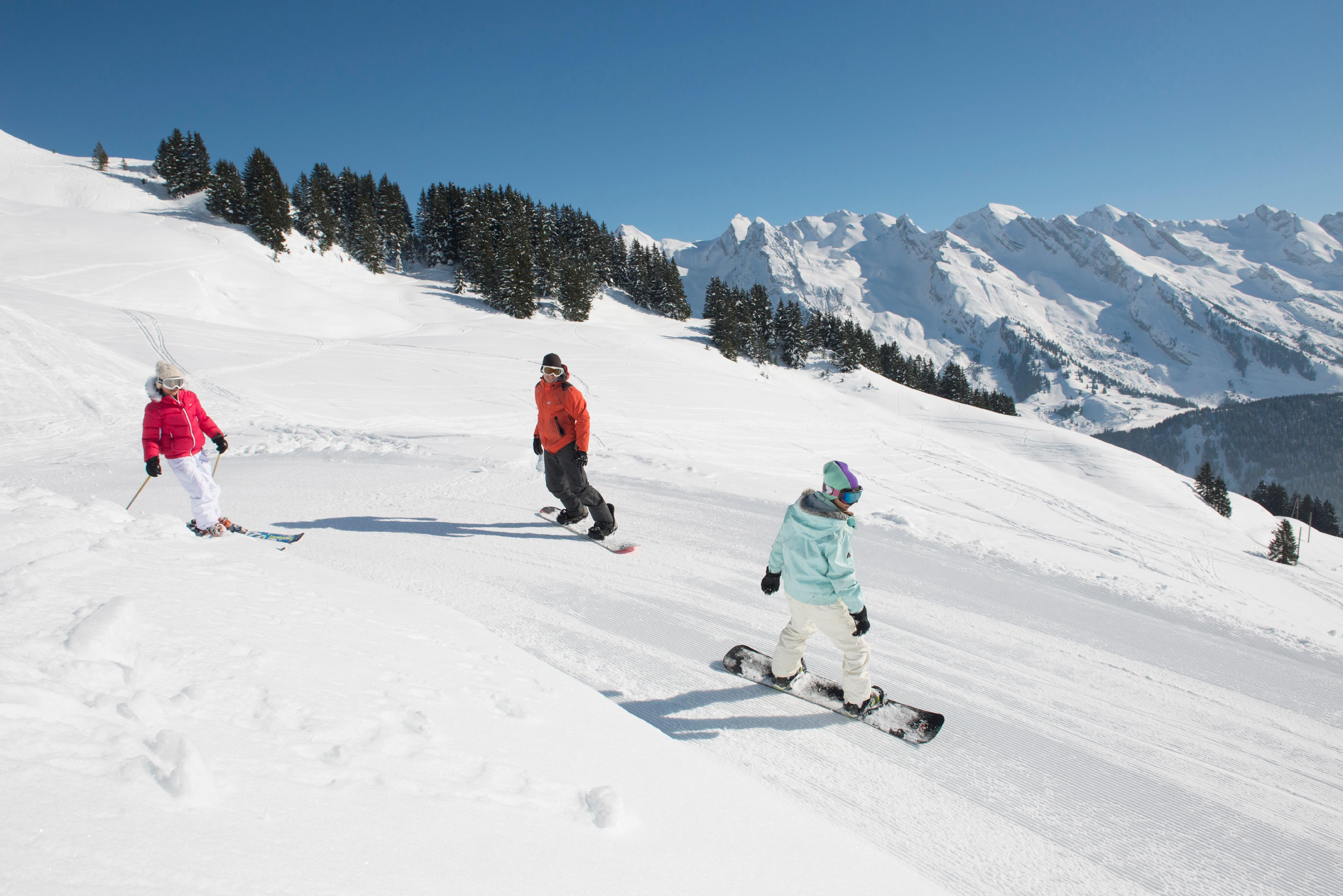 Skiing in Le Grand Bornand